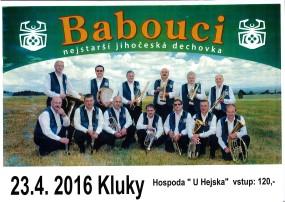 Babouci Kluky 23.4.2016